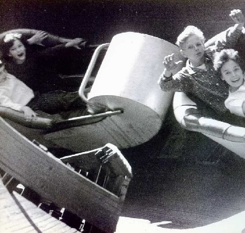 Flying Turns Bobsled ride - Forest Park Highlands - St. Louis